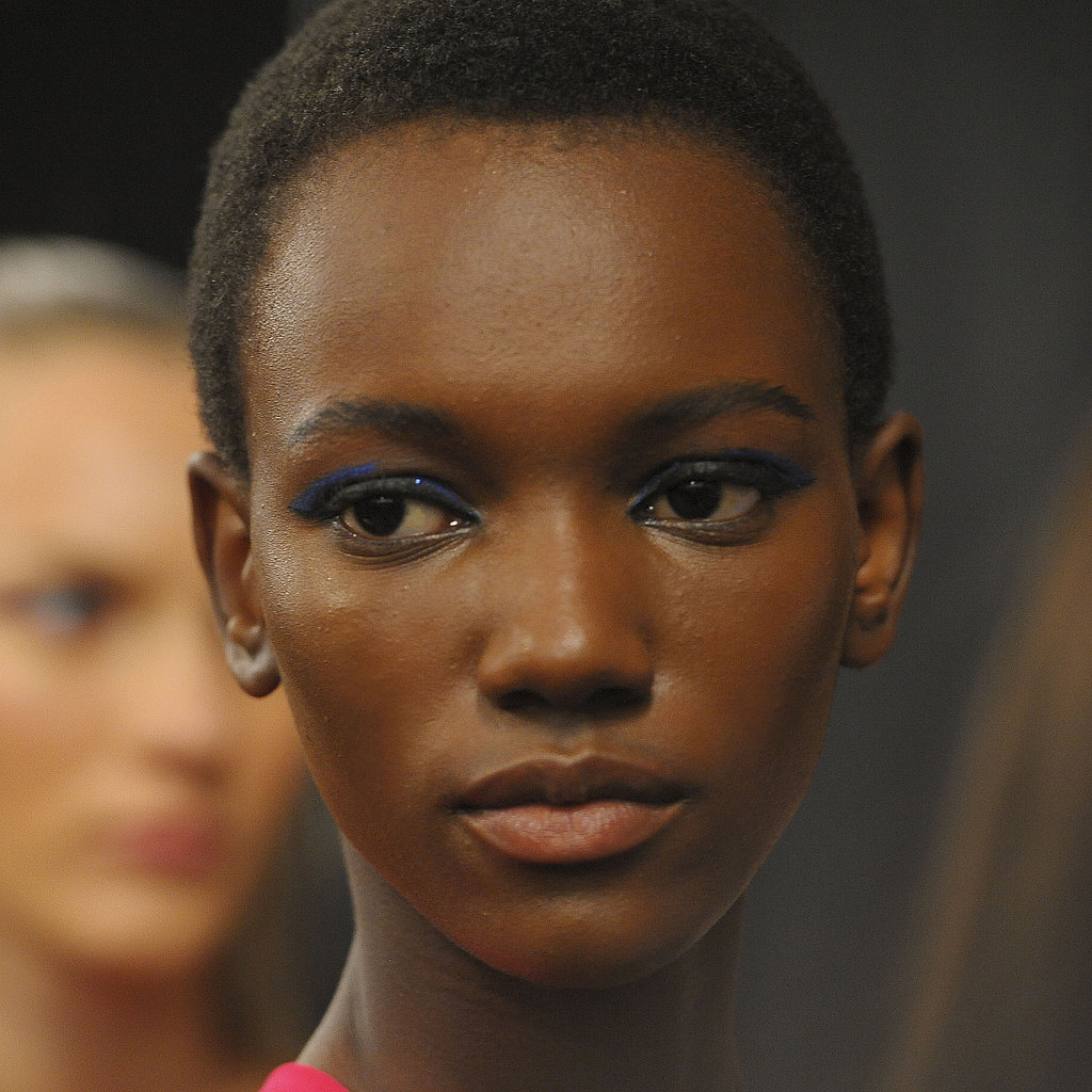 Monique Lhuillier Spring 2012: Backstage Beauty Pictures