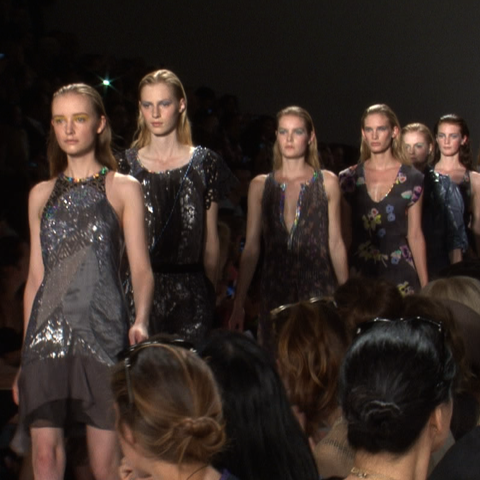 Rebecca Taylor Spring 2012 Runway Video