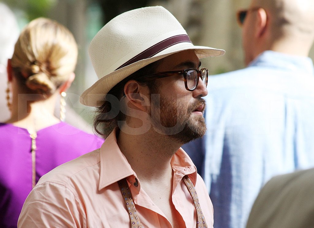 Sean Lennon at Mark Ronson and Josephine de la Baume's wedding.