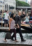 Matt and Luciana Say Ciao to the Venice Film Festival