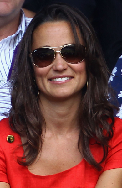 At Wimbledon on day nine in July 2011.