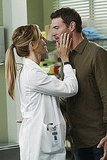 Kim Raver as Dr. Teddy Altman and Scott Foley as Henry on Grey's Anatomy.  Photo copyright 2011 ABC, Inc.