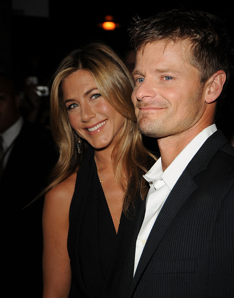 Jennifer Aniston and her costar Steve Zahn hit the red carpet together in 2007 promoting their film Management.