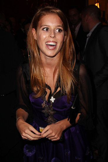 Princess Beatrice out in London.