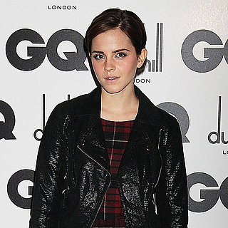 Emma Watson in Plaid at GQ Men of the Year Awards Pictures