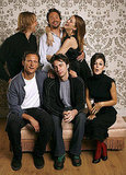 The Last Kiss stars Eric Christian Olsen, Michael Weston, Jacinda Barrett, Tony Goldwyn, Zach Braff, and Rachel Bilson joked around during their official portrait studio session in 2006.
