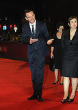 Michael Fassbender at the Venice premiere of Shame.