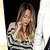 Lauren Conrad at the Troubadour in Striped Shirt Pictures