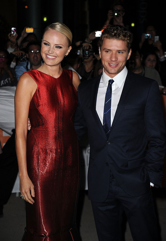 Costars Malin Akerman and Ryan Phillippe went all out for their 2010 Canadian debut of The Bang Bang Club.