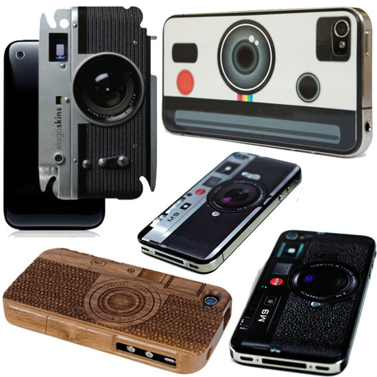 iPhone 4S Camera Skins