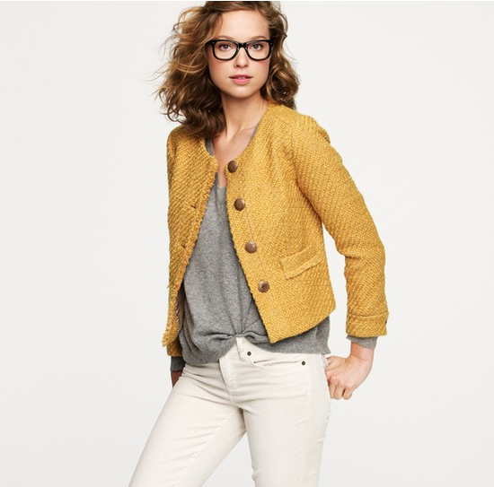 J.Crew Vintage Tweed Jacket ($198)