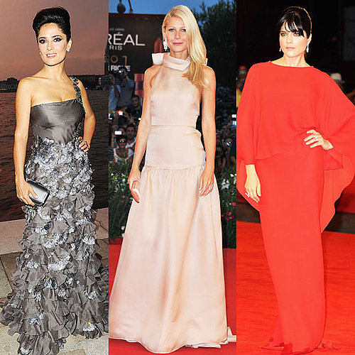 Pictures of Celebrities at the Venice Film Festival 2011; Gwyneth Paltrow, Salma Hayek, Selma Blair, Abbie Cornish and more!
