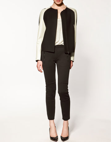 Zara Two Tone Studio Blazer ($129)
