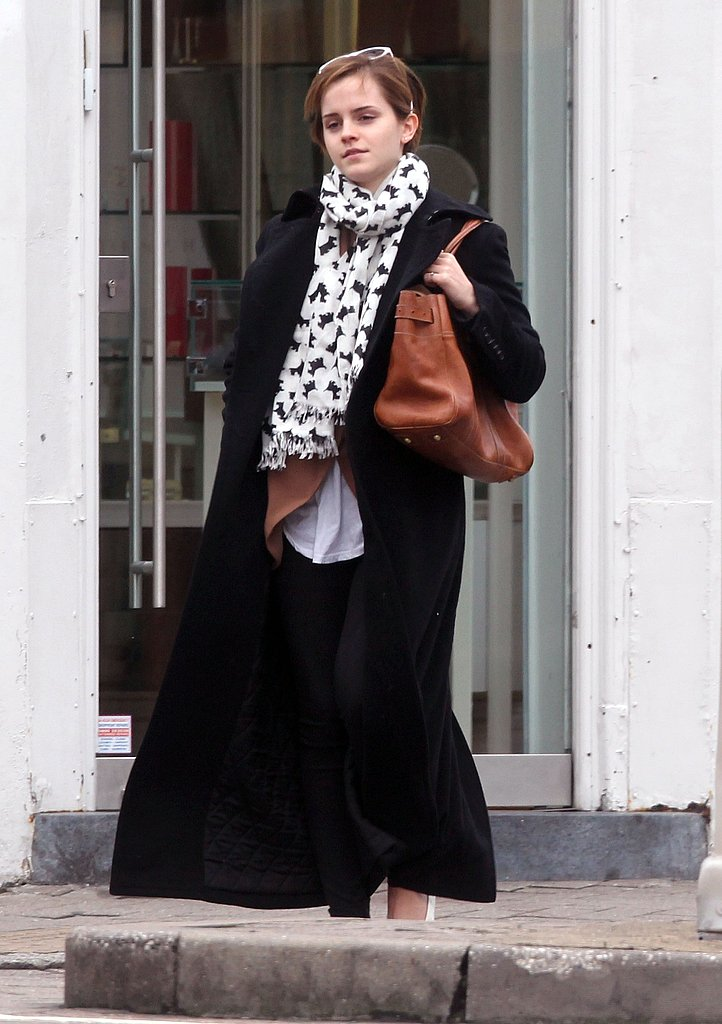 Emma Watson in London.