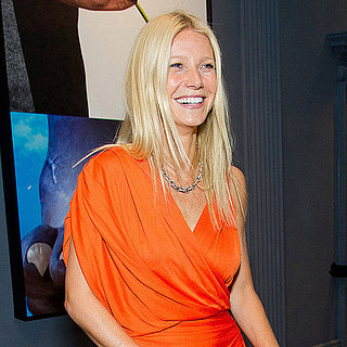 Gwyneth Paltrow in Lanvin Dress at Coach Dinner Pictures
