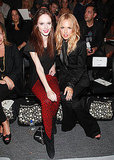 Rachel Zoe with Coco Rocha at Supima.