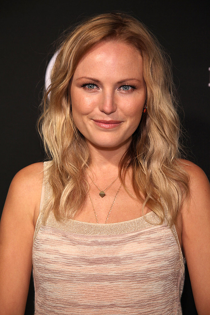 Malin Akerman wore a Missoni dress.
