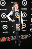 Elizabeth Olsen embraced the Missoni for Target collaboration.