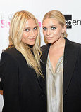 Mary-Kate Olsen and Ashley Olsen had their blonde locks in common on FNO.