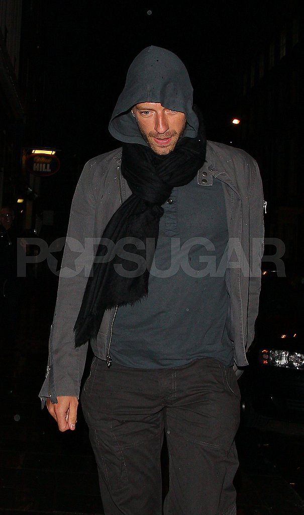 Chris Martin in London.