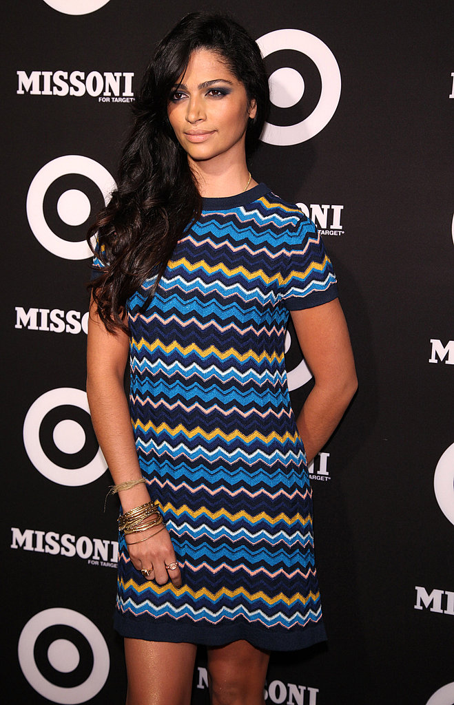 Camila Alves went short and sweet.