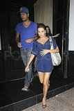 Eva Longoria and Eduardo Go Blue For a Red-Hot Night Out