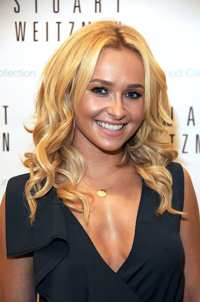 Hayden Panettiere on Fashion's Night Out.