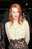 Karen Elson celebrated Fashion's Night Out in NYC.
