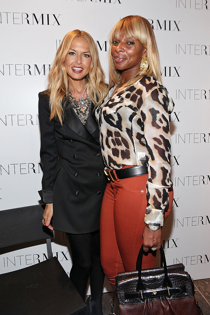 Rachel Zoe and Mary J. Blige met at Intermix.