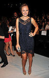 Malin Akerman during New York Fashion Week.