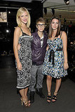 Brooklyn Decker, Justin Bieber, and Bee Shaffer hung out at Dolce & Gabbana.