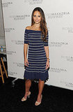 Jordana Brewster at the BCBG Max Azria show in NYC.