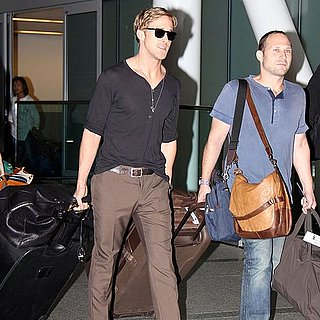 Ryan Gosling Pictures Arriving in Toronto For Film Festival
