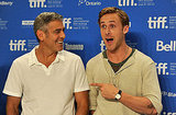 George Clooney and Ryan Gosling Bring Their Handsome Men Club to TIFF