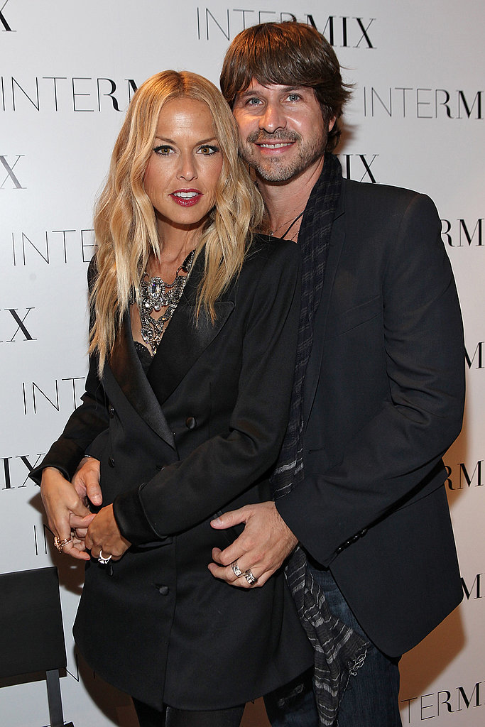 Rachel Zoe and Rodger Berman cuddled on Fashion's Night Out.