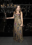 Sophia Bush at Dolce & Gabbana.