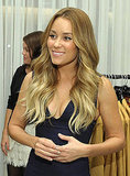 Lauren Conrad attended Fashion's Night Out in LA.
