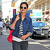 Katie Holmes and Suri Cruise in NYC in September