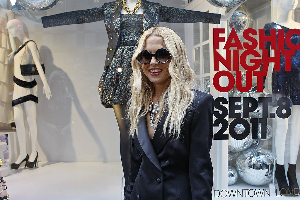 Rachel Zoe attended Fashion's Night Out.