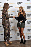 Charlotte Ronson partied on Fashion's Night Out with Shopbop.