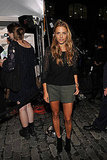 Charlotte Ronson wore shorts on Fashion's Night Out.