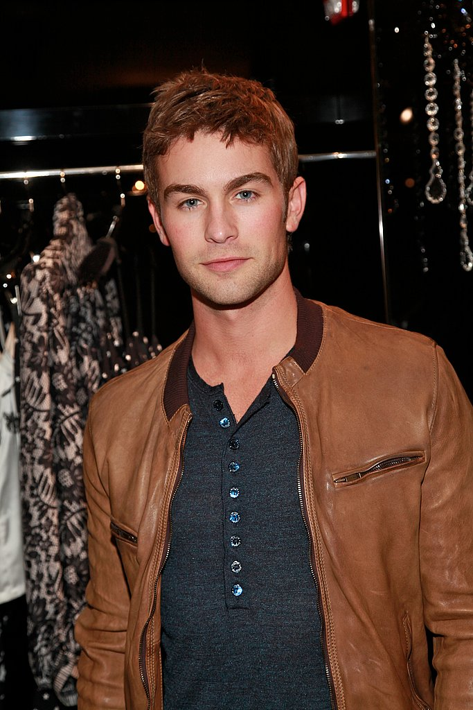 Chace Crawford on Fashion's Night Out.