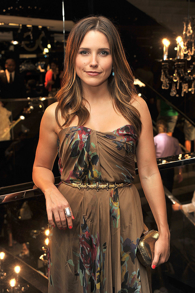 Sophia Bush partied on Fashion's Night Out.