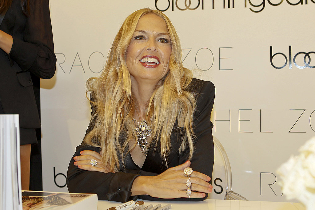 Rachel Zoe waited to sign autographs.