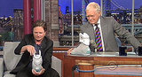 Michael J. Fox on Letterman