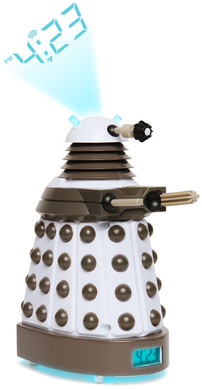 Dalek Projection Clock ($45)