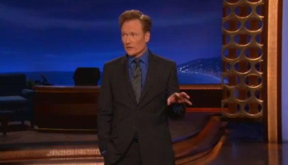 Conan Mocks Apple's iPhone 5 Shenanigans