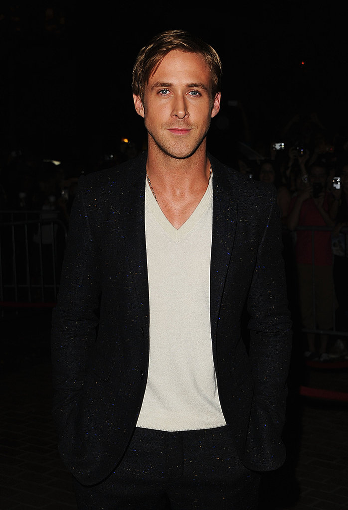 Ryan Gosling wore Burberry for the big night.