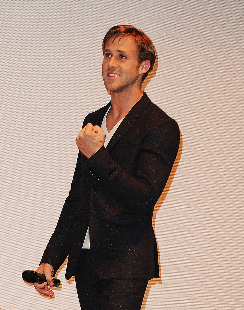 Ryan Gosling took the stage.