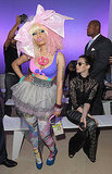 Nicki Minaj and Elettra Wiedemann at Prabal Gurung.